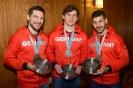 05.03.2018, Silbermedaillengewinner tragen sich in das goldene Buch der Stadt Nürnberg ein
